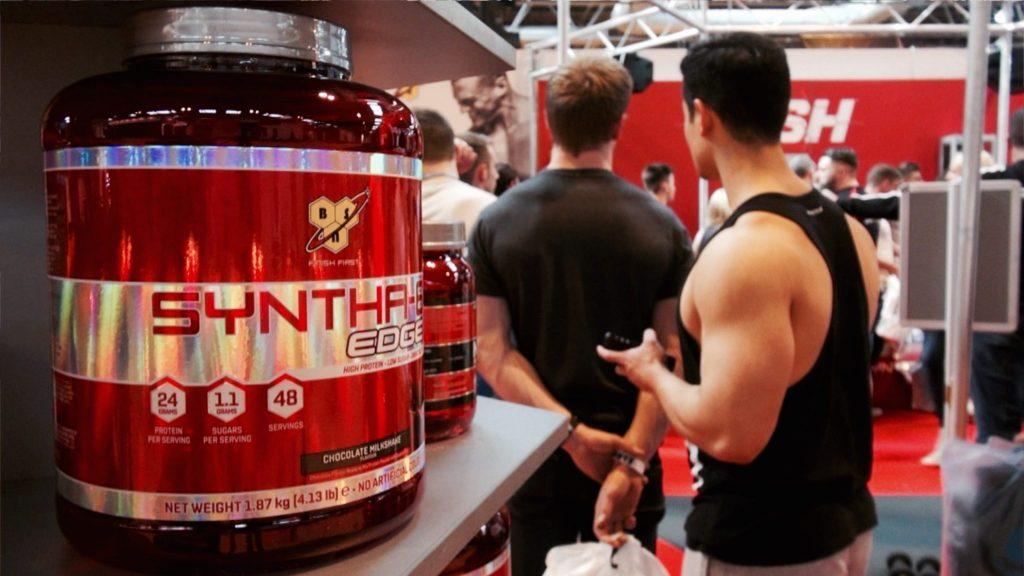 トレーニング後の10gのホエイタンパク質が筋タンパク質合成を促す(大豆より34%筋タンパク合成が増す)