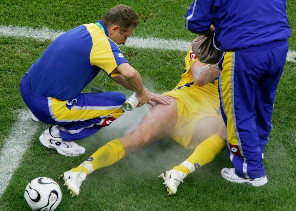 急性外傷受傷後の適切な処置RICE