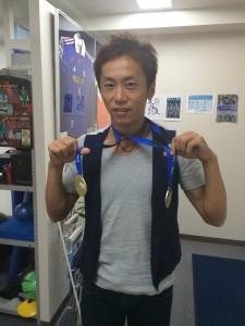 武井壮が陸上のマスターズ国際大会で優勝