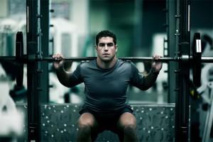下肢筋力向上のためのバックスクワット