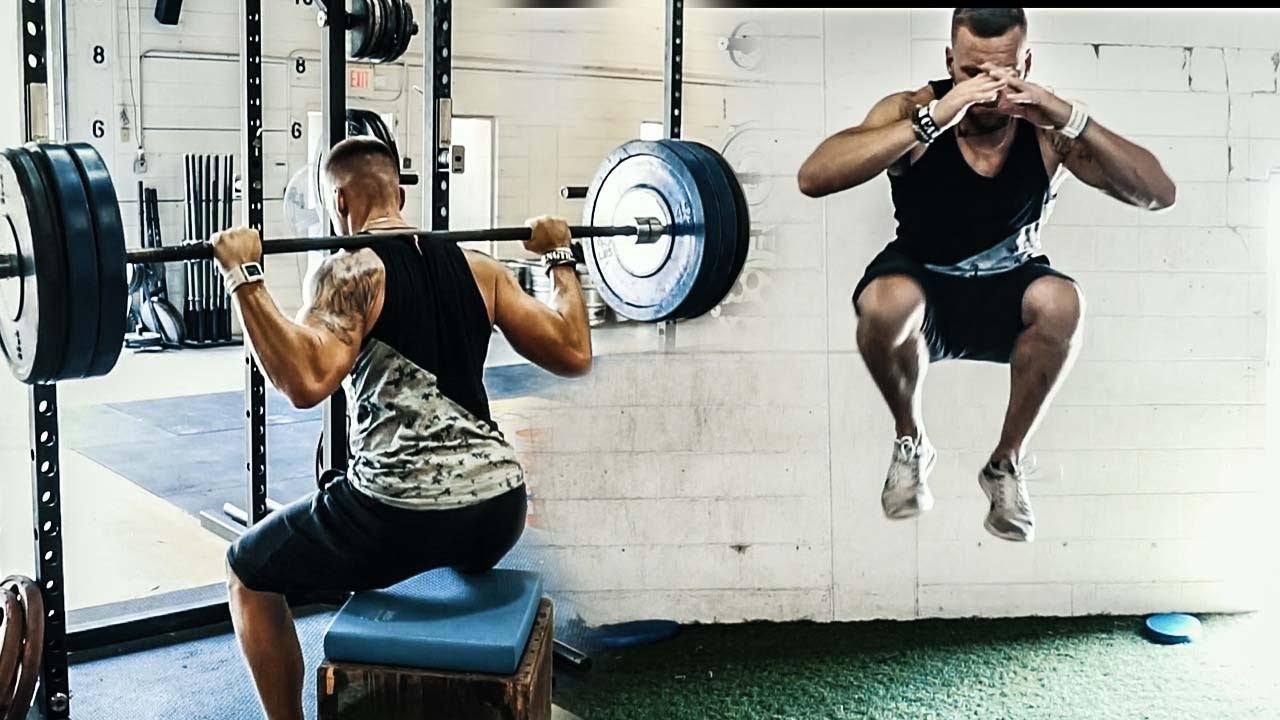 高強度の下半身複合動作と股関節
