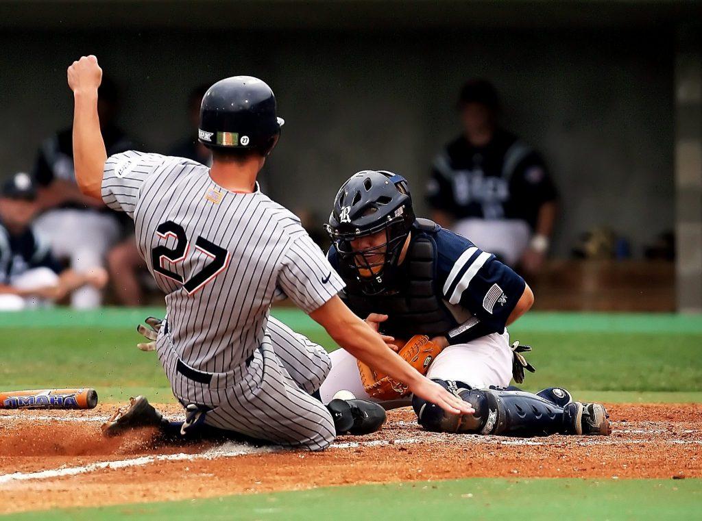 野球施術における野球競技の大きな特徴